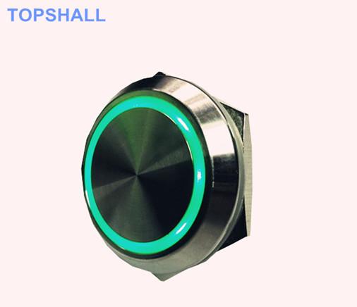 防水复位金属按钮